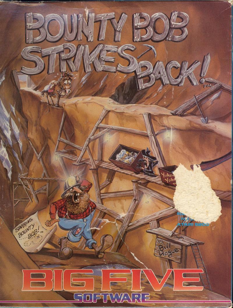 Bounty Bob Strikes Back (1984) (Big Five Software) Box Scan - Front