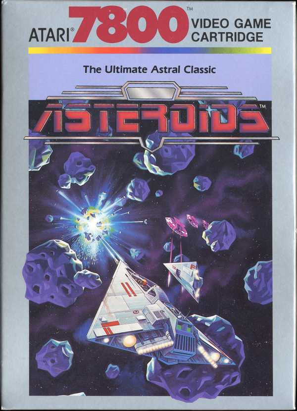 Asteroids Box Scan - Front