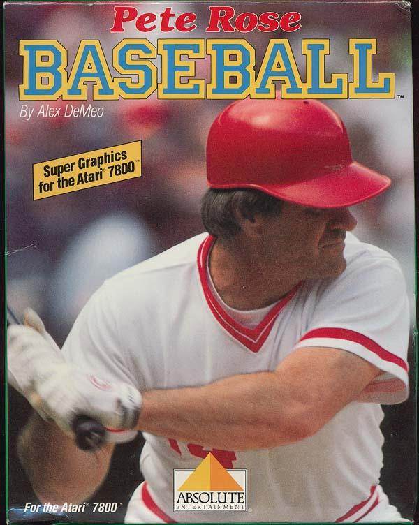 Pete Rose Baseball Box Scan - Front