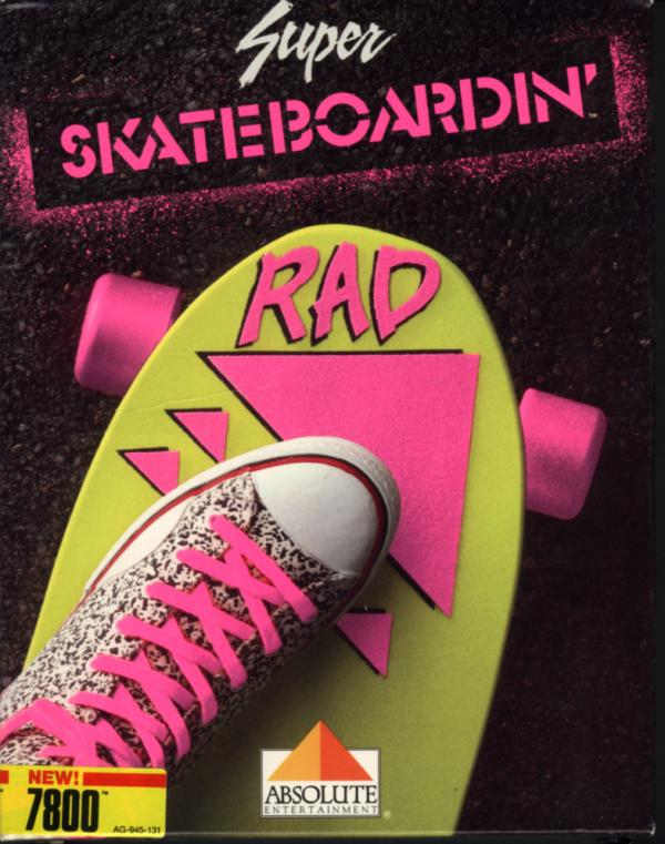 Super Skateboardin' Box Scan - Front