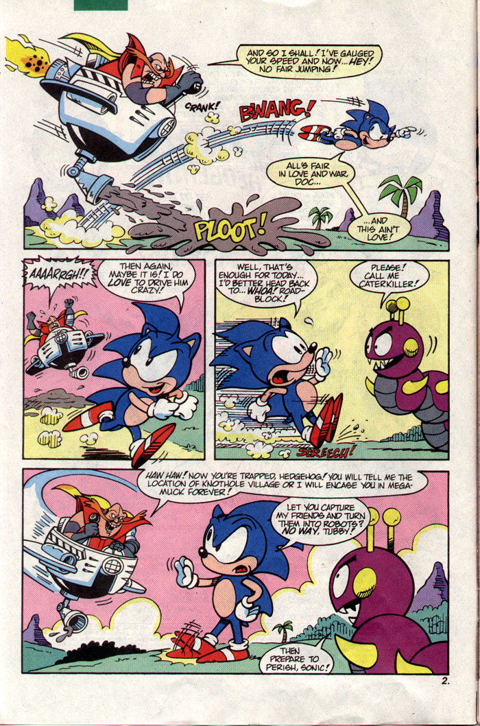 Sonic - Archie Adventure Series February 1993 Page 2