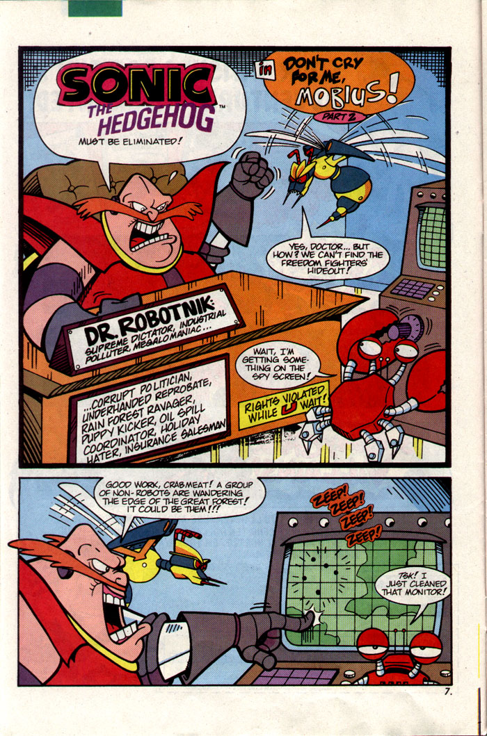 Sonic - Archie Adventure Series February 1993 Page 7