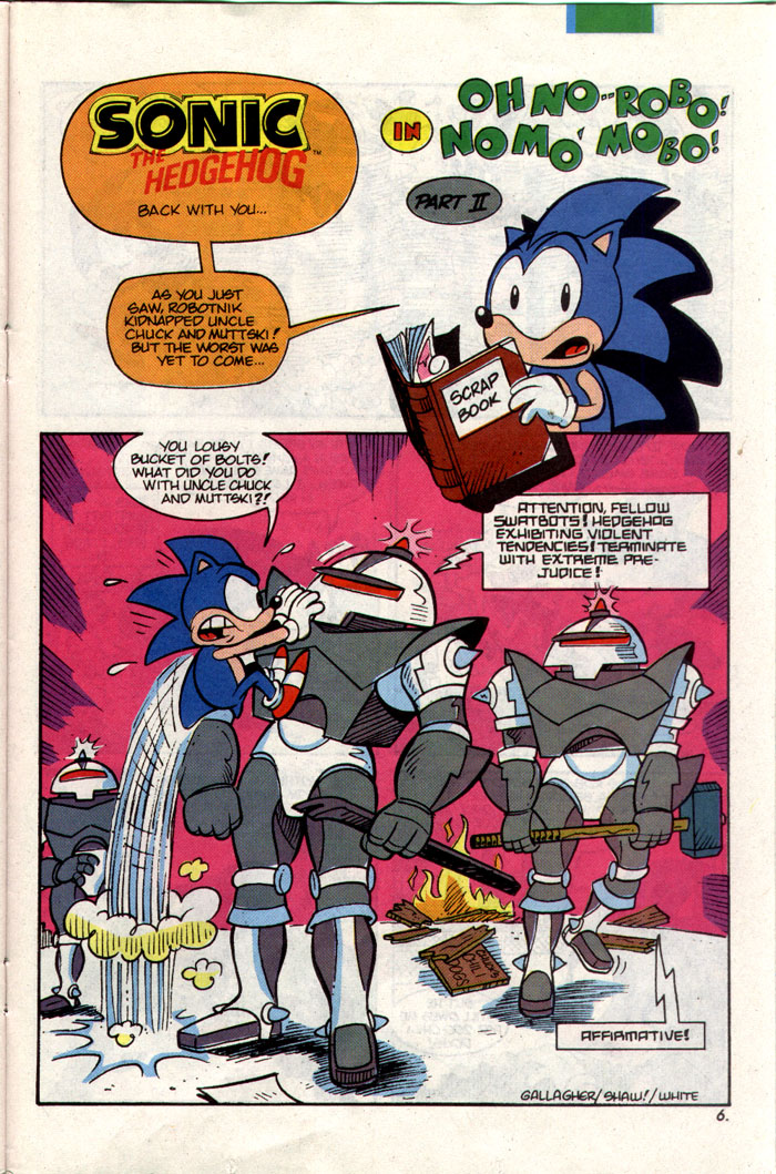 Sonic - Archie Adventure Series February 1993 Page 20