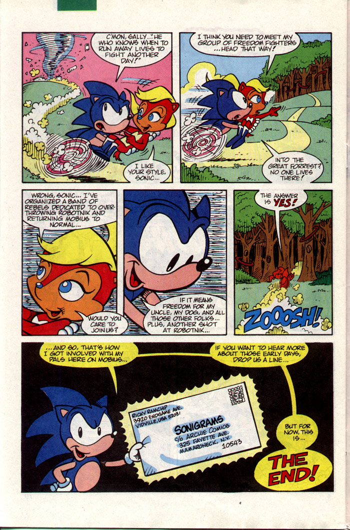 Sonic - Archie Adventure Series February 1993 Page 25