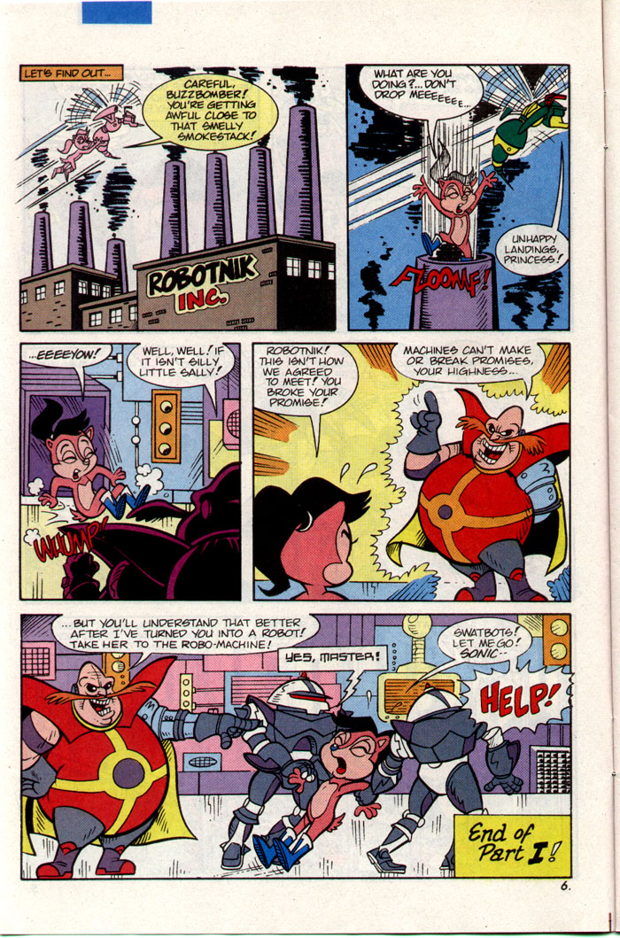 Sonic - Archie Adventure Series March 1993 Page 6