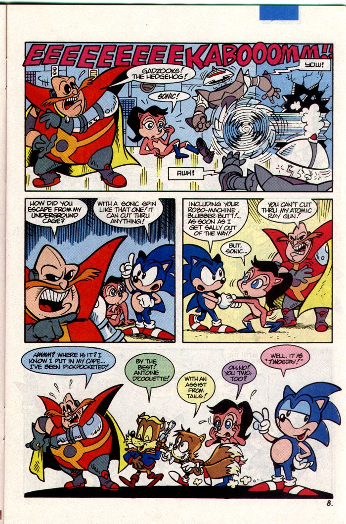 Sonic - Archie Adventure Series March 1993 Page 8