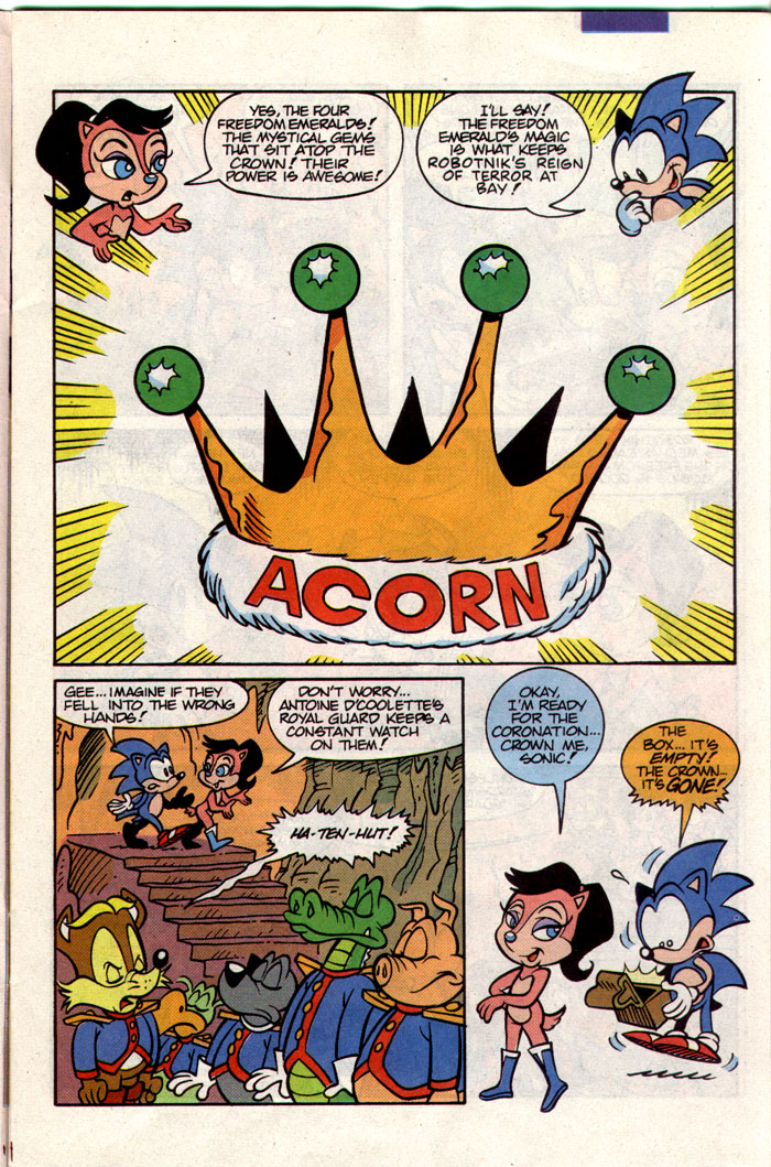 Sonic - Archie Adventure Series April 1993 Page 3