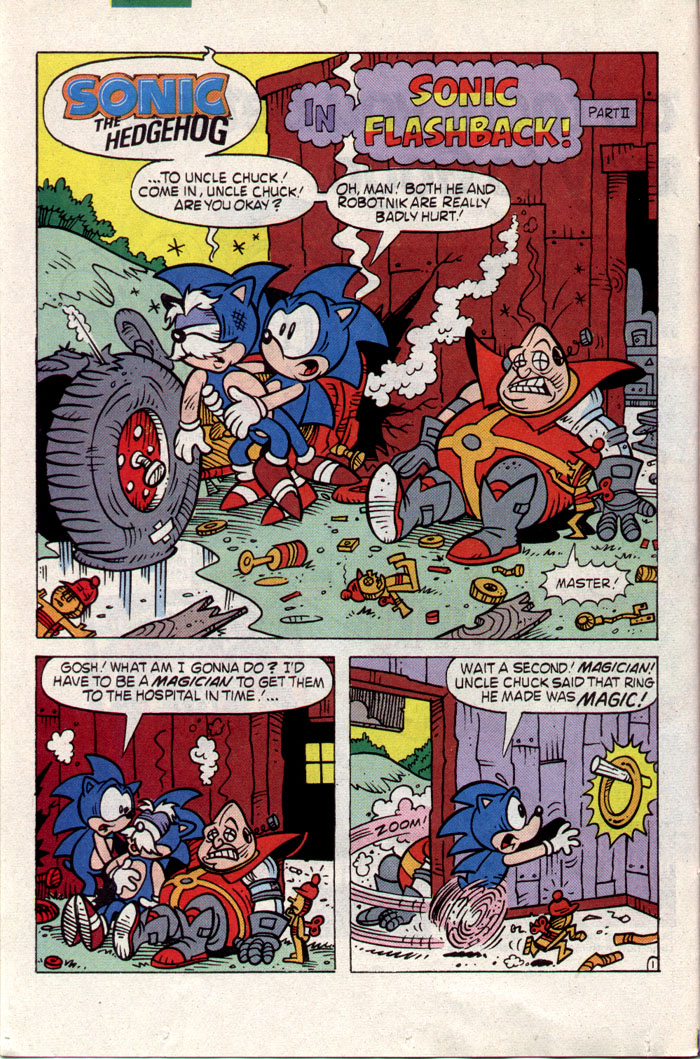Sonic - Archie Adventure Series May 1993 Page 8
