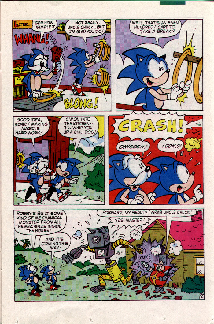 Sonic - Archie Adventure Series May 1993 Page 11