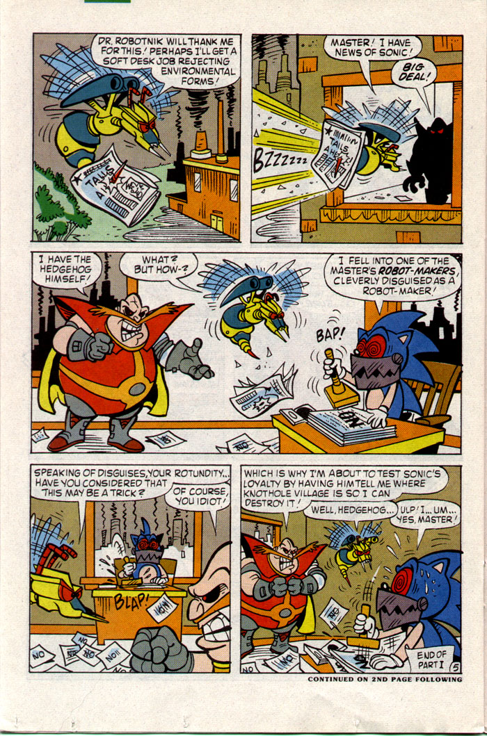 Sonic - Archie Adventure Series May 1993 Page 18