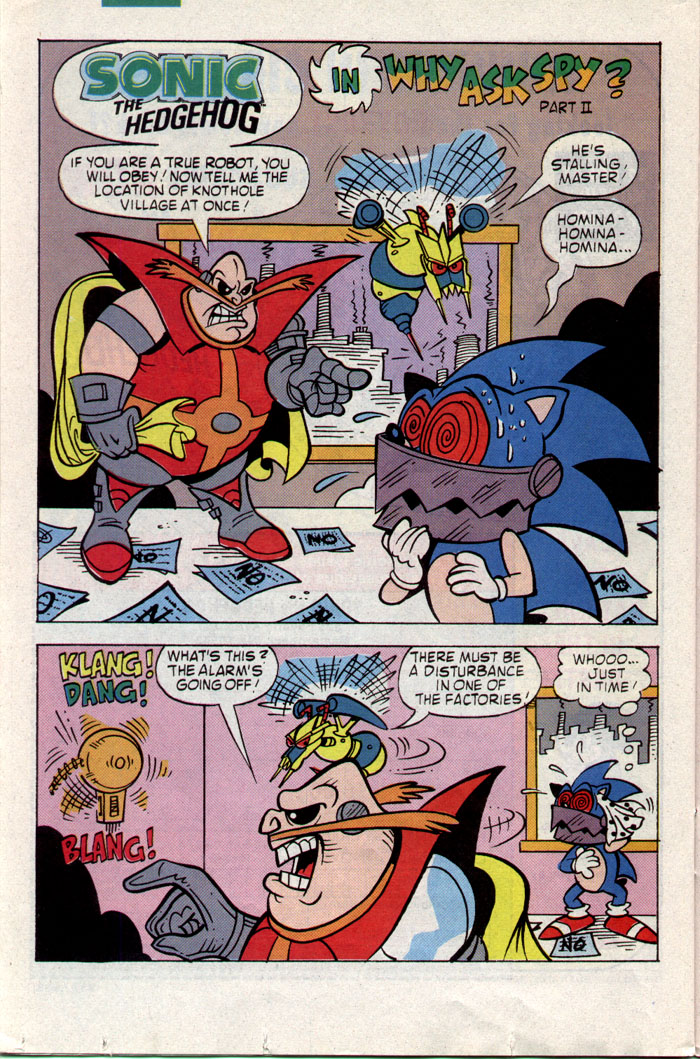 Sonic - Archie Adventure Series May 1993 Page 19