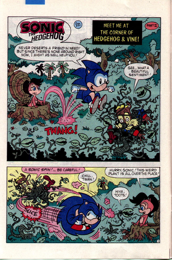 Sonic - Archie Adventure Series July 1993 Page 6