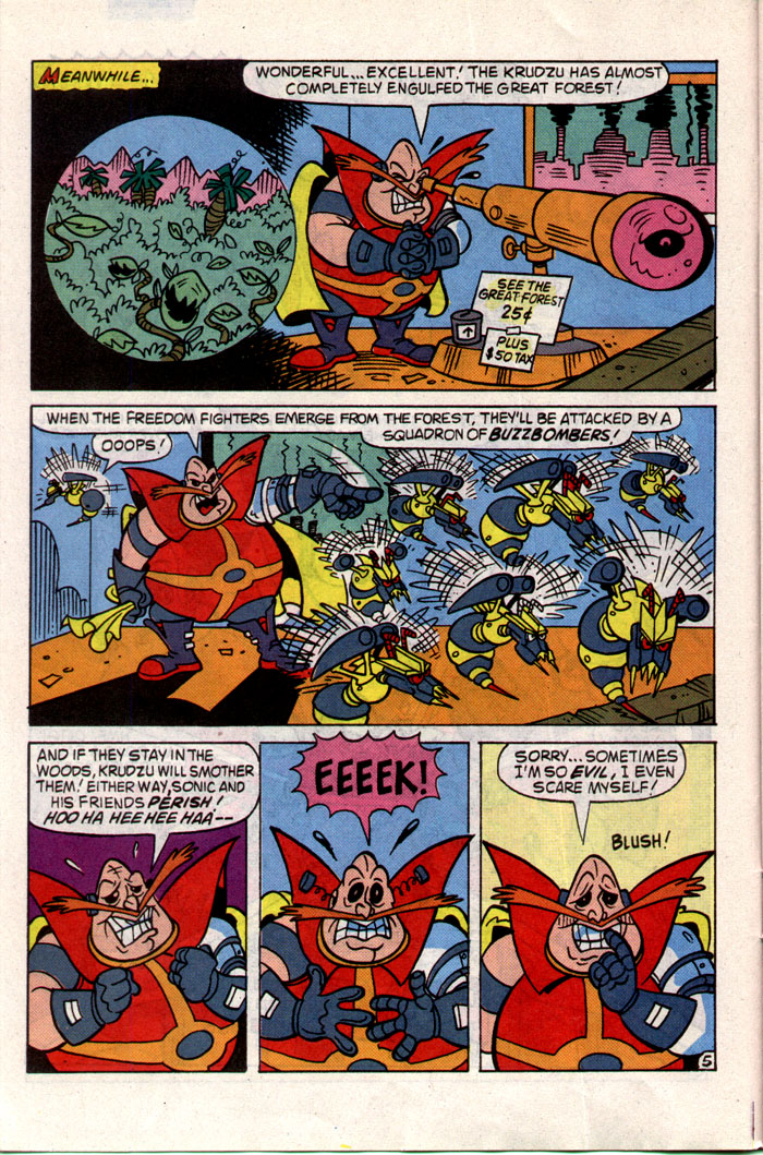 Sonic - Archie Adventure Series July 1993 Page 10