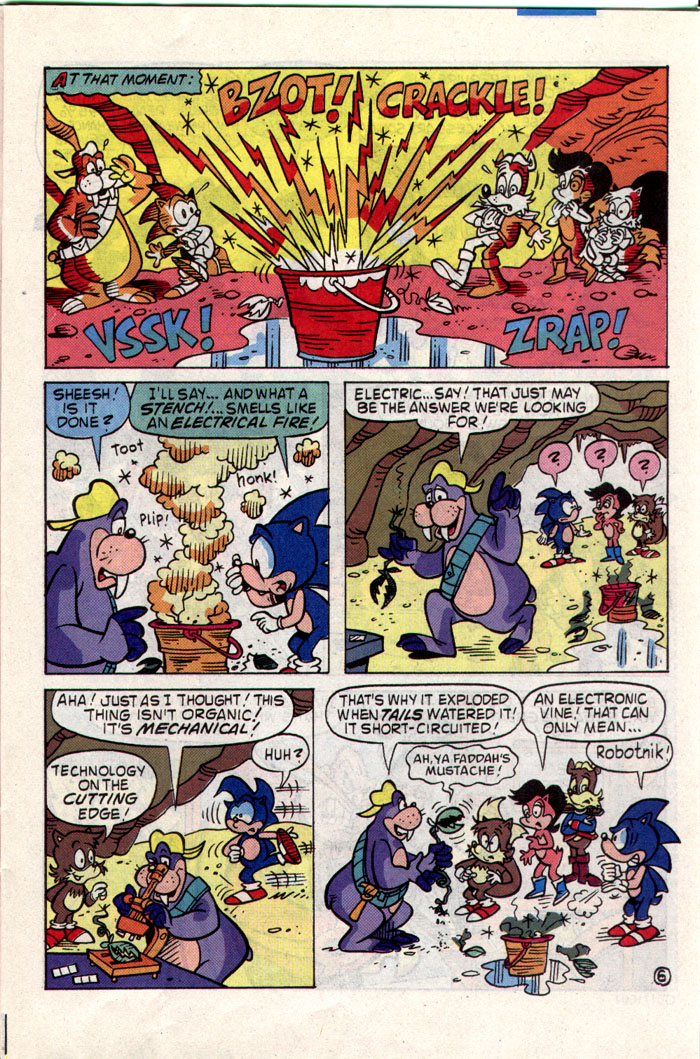 Sonic - Archie Adventure Series July 1993 Page 11