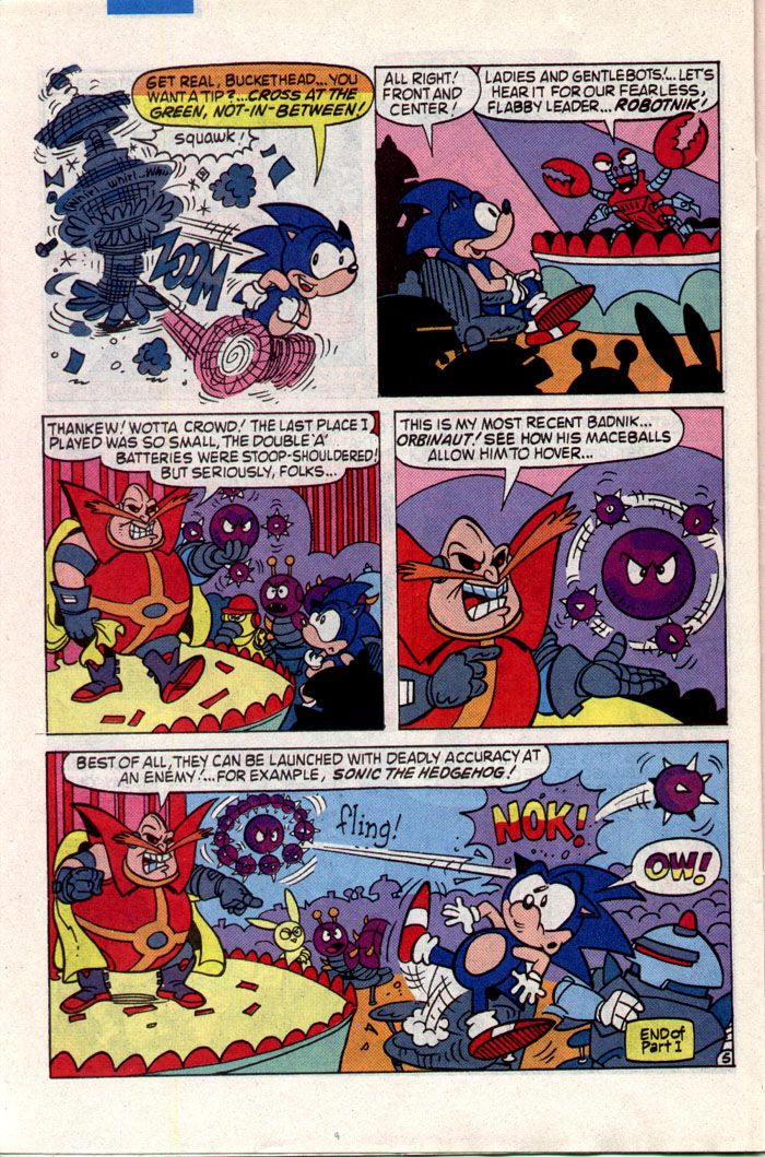 Sonic - Archie Adventure Series July 1993 Page 19