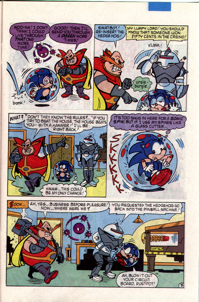 Sonic - Archie Adventure Series July 1993 Page 22