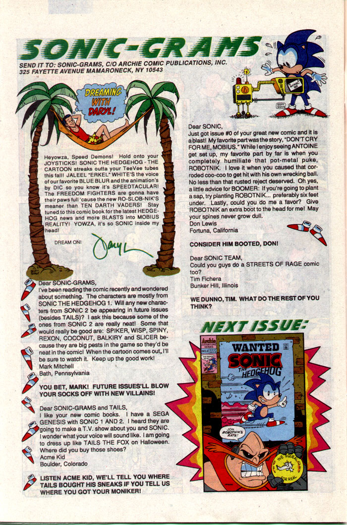 Sonic - Archie Adventure Series July 1993 Page 28