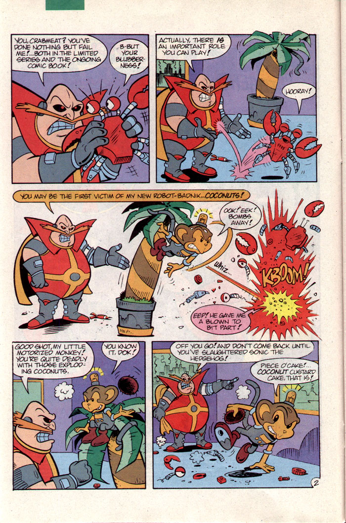 Sonic - Archie Adventure Series September 1993 Page 2