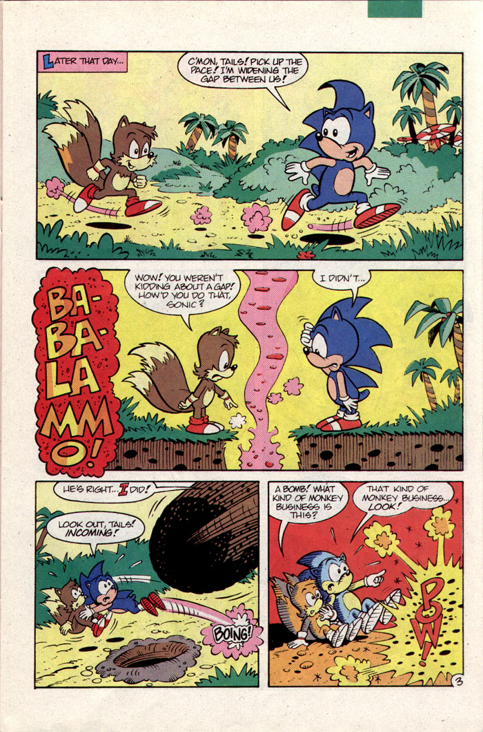 Sonic - Archie Adventure Series September 1993 Page 3