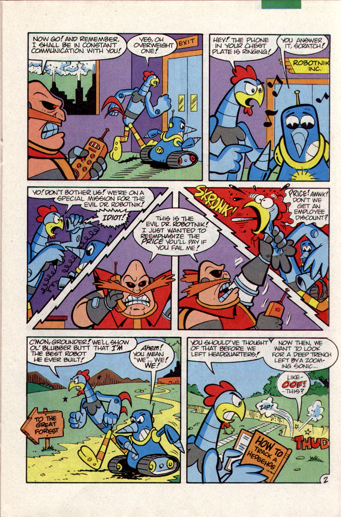 Sonic - Archie Adventure Series September 1993 Page 8