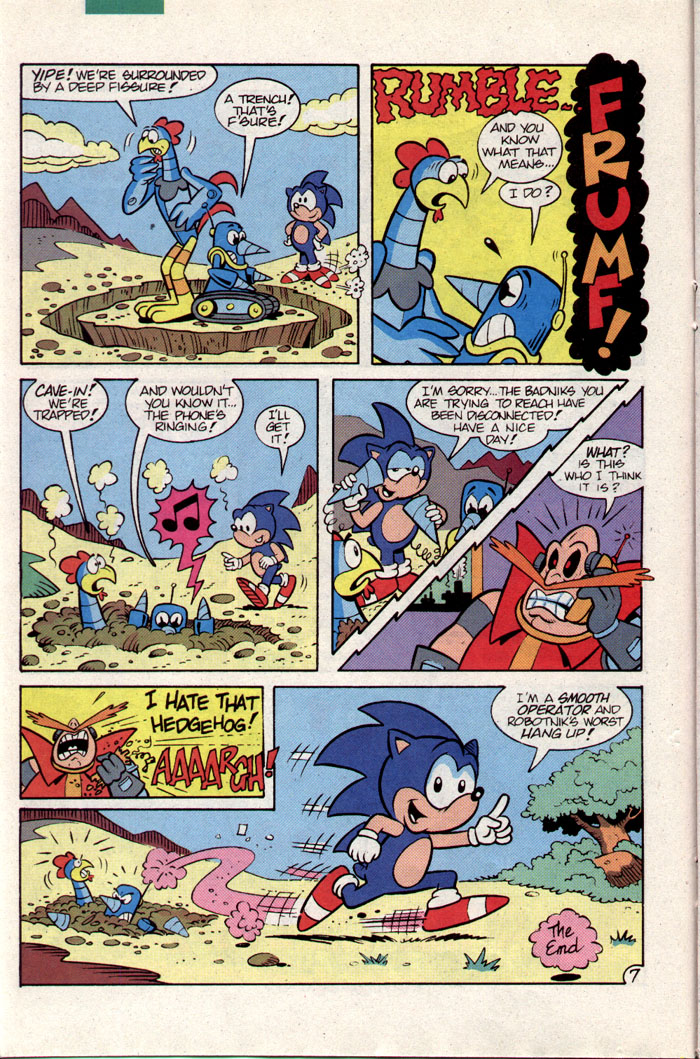 Sonic - Archie Adventure Series September 1993 Page 13