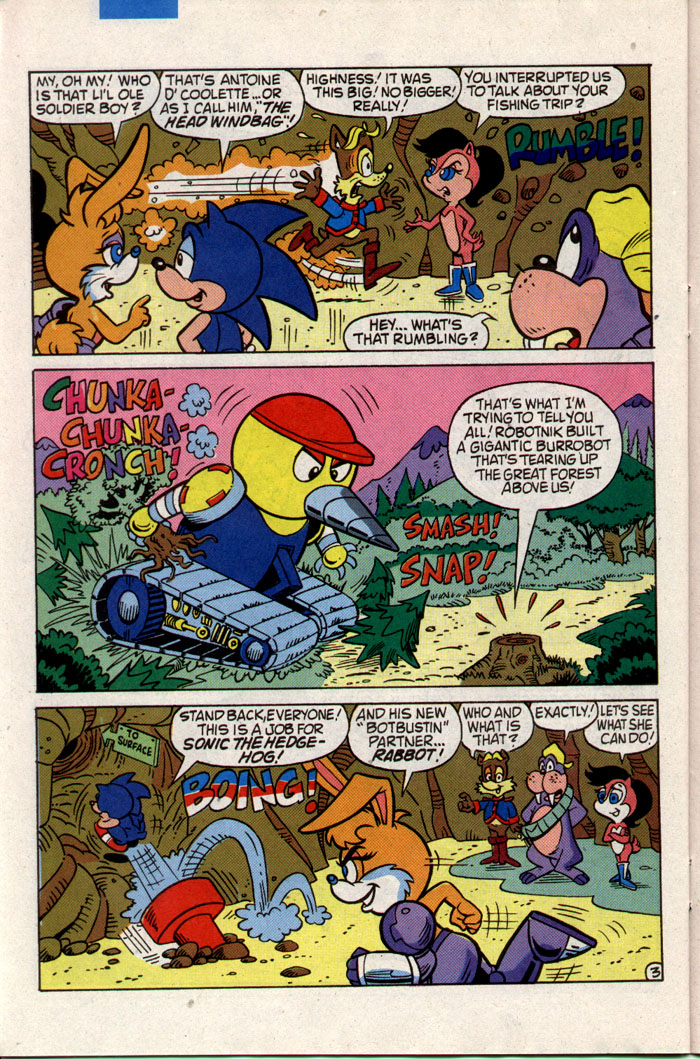 Sonic - Archie Adventure Series October 1993 Page 22