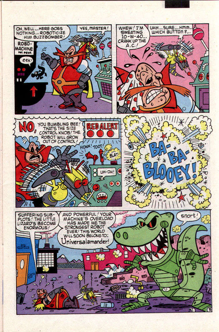 Sonic - Archie Adventure Series November 1993 Page 3