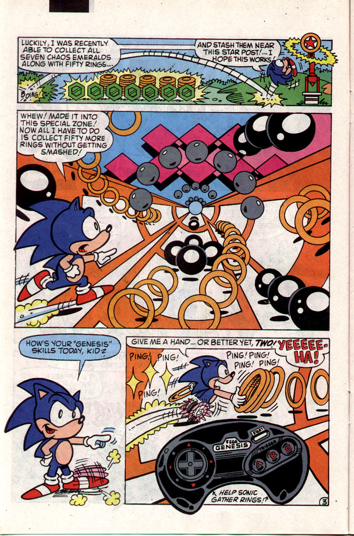 Sonic - Archie Adventure Series November 1993 Page 9