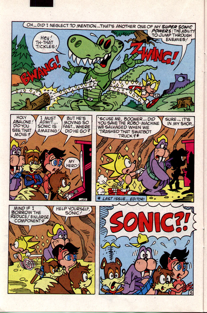 Sonic - Archie Adventure Series November 1993 Page 11