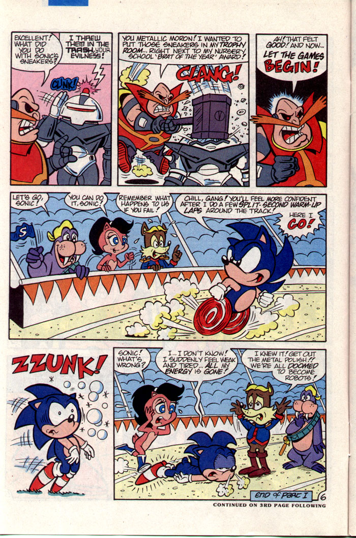 Sonic - Archie Adventure Series December 1993 Page 6