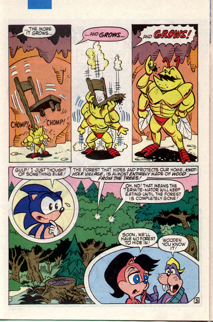 Sonic - Archie Adventure Series December 1993 Page 18