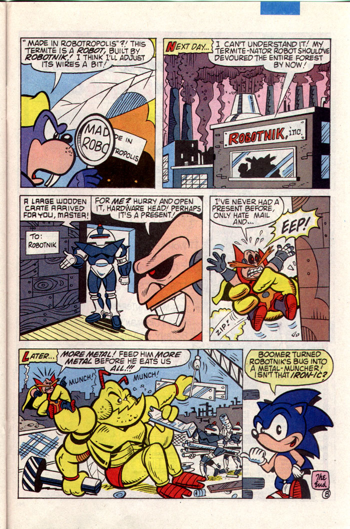 Sonic - Archie Adventure Series December 1993 Page 21