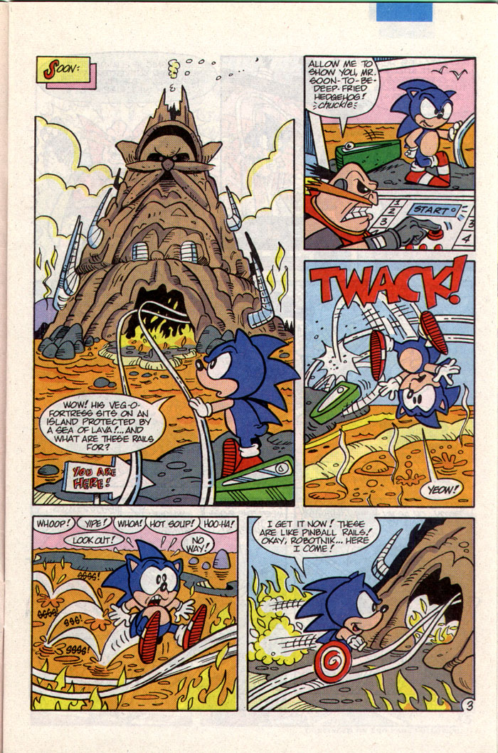 Sonic - Archie Adventure Series January 1994 Page 3