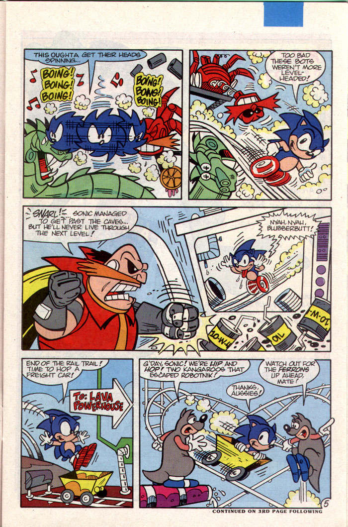 Sonic - Archie Adventure Series January 1994 Page 5