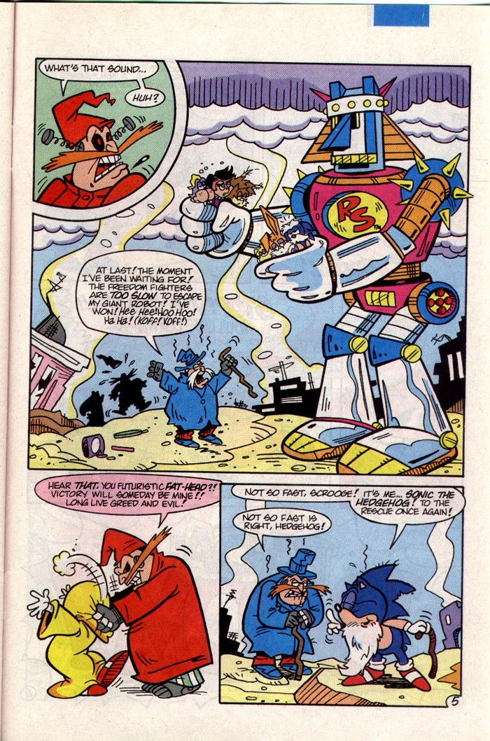 Sonic - Archie Adventure Series January 1994 Page 20