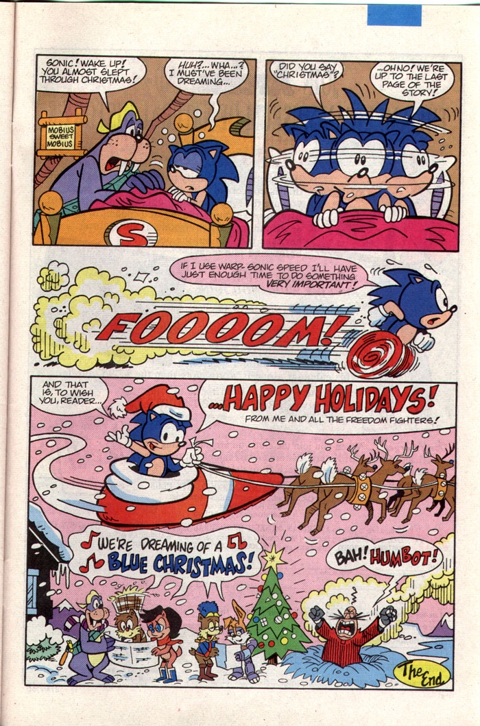 Sonic - Archie Adventure Series January 1994 Page 22