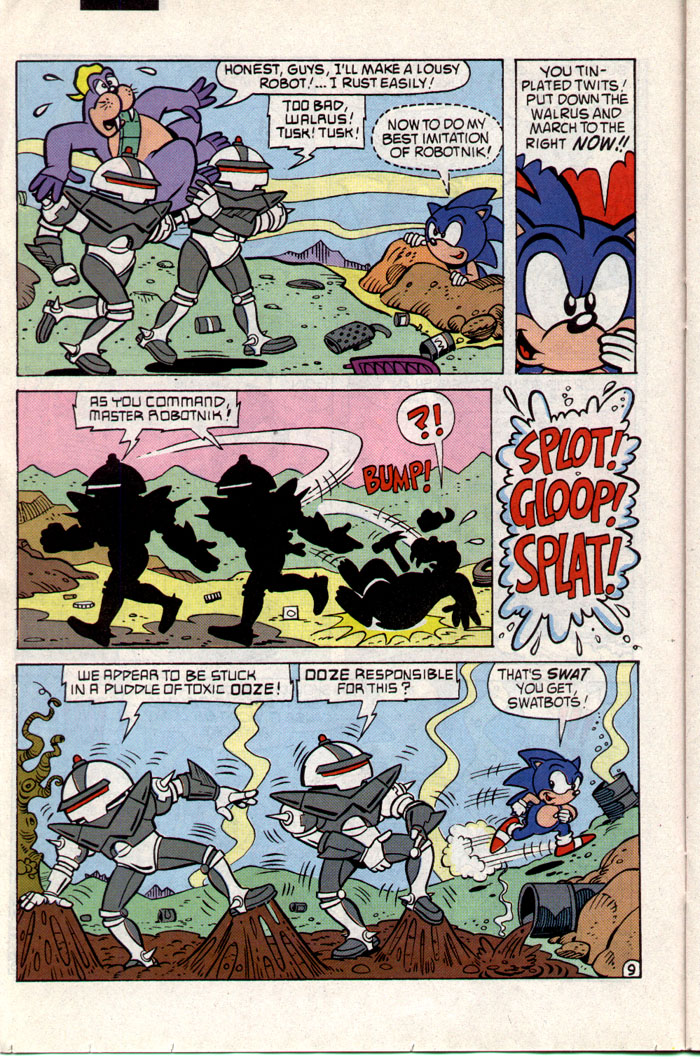 Sonic - Archie Adventure Series February 1994 Page 9
