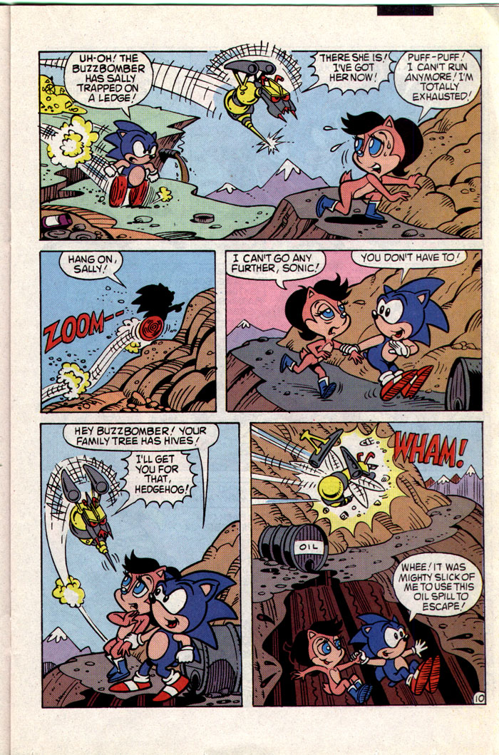 Sonic - Archie Adventure Series February 1994 Page 10