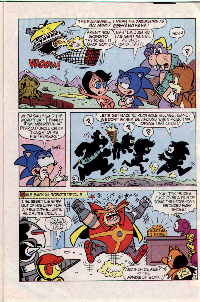 Sonic - Archie Adventure Series February 1994 Page 12