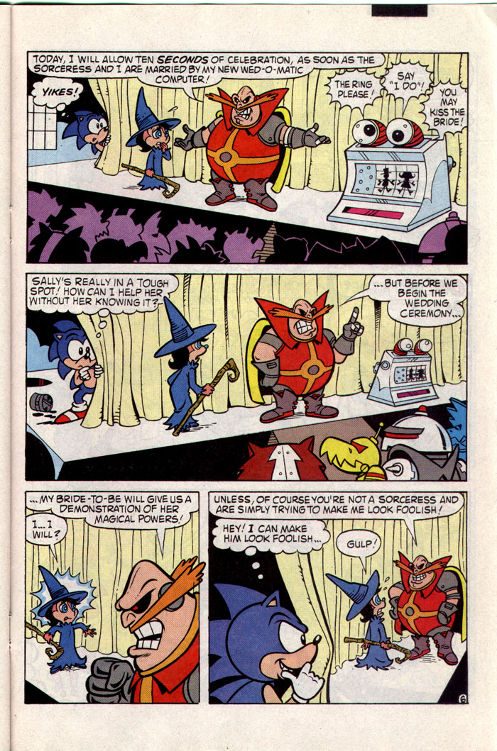 Sonic - Archie Adventure Series February 1994 Page 20