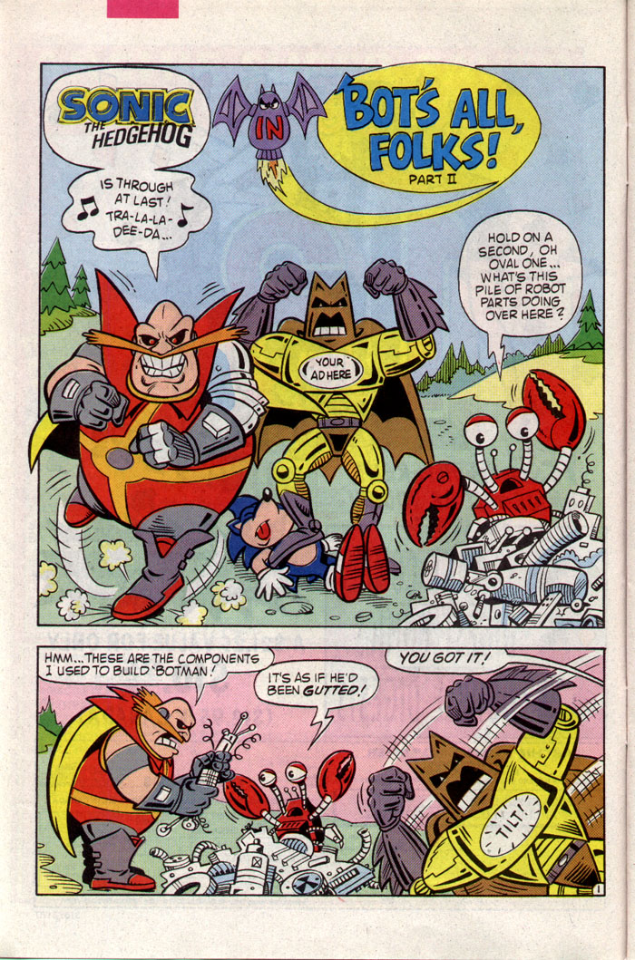 Sonic - Archie Adventure Series March 1994 Page 6