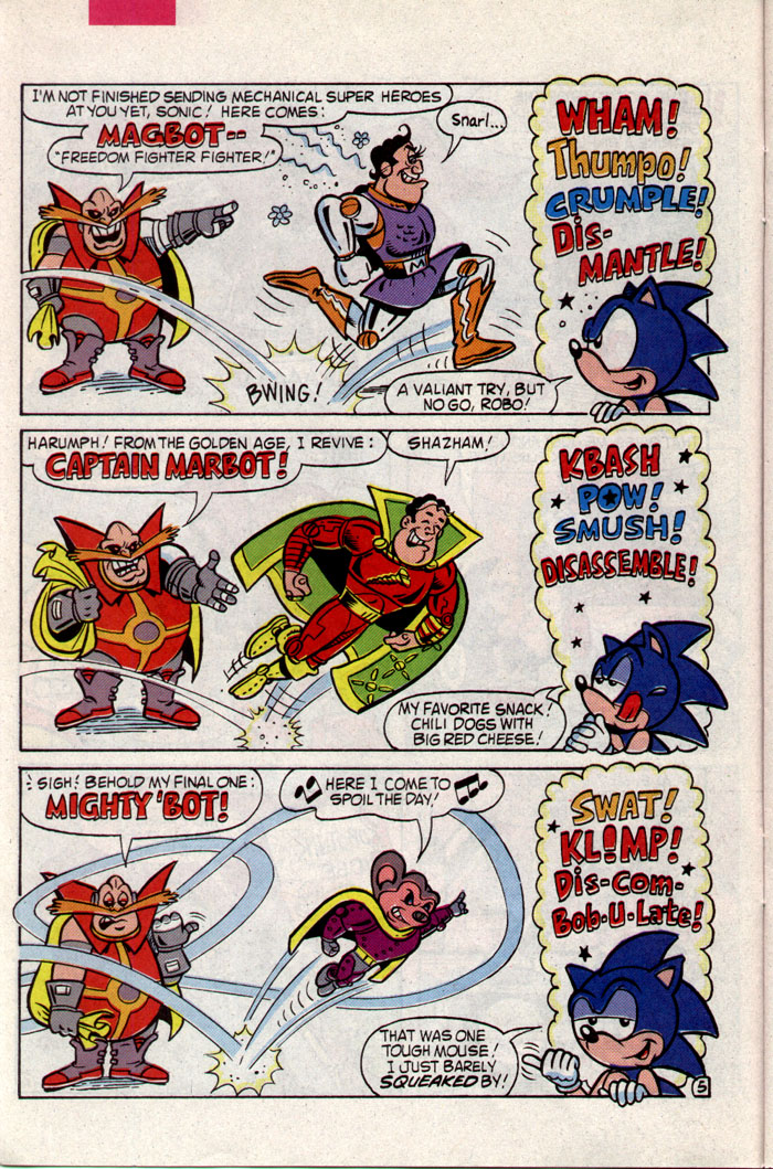 Sonic - Archie Adventure Series March 1994 Page 10
