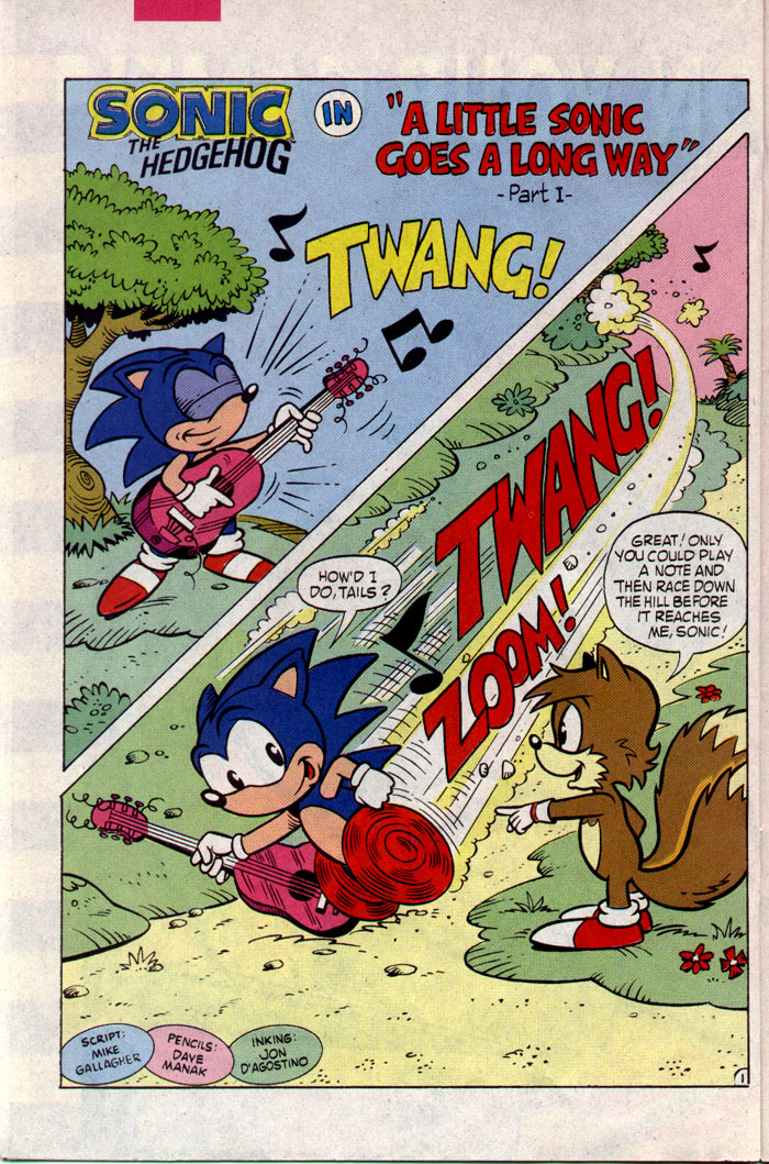 Sonic - Archie Adventure Series March 1994 Page 13