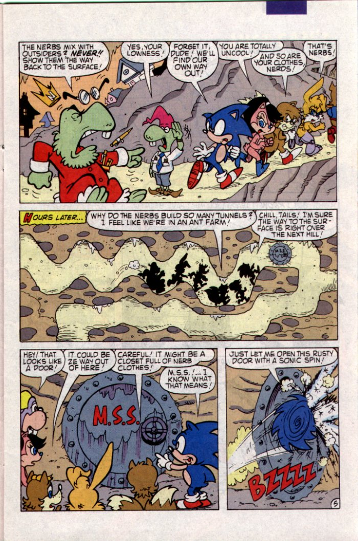Sonic - Archie Adventure Series May 1994 Page 5