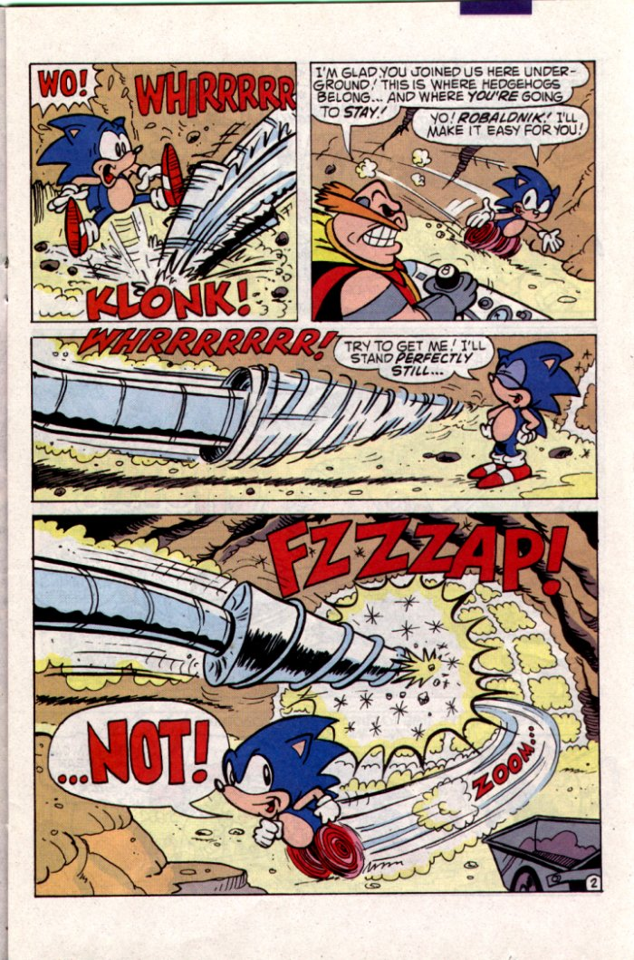 Sonic - Archie Adventure Series May 1994 Page 8