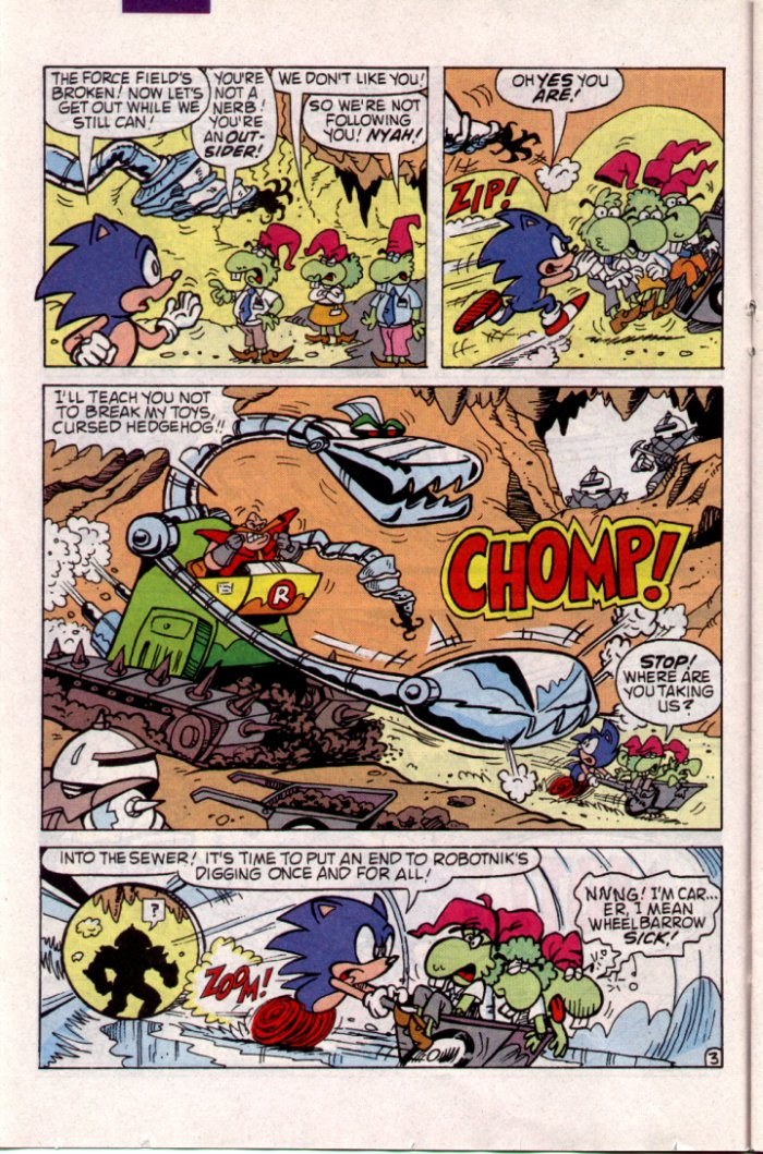 Sonic - Archie Adventure Series May 1994 Page 9