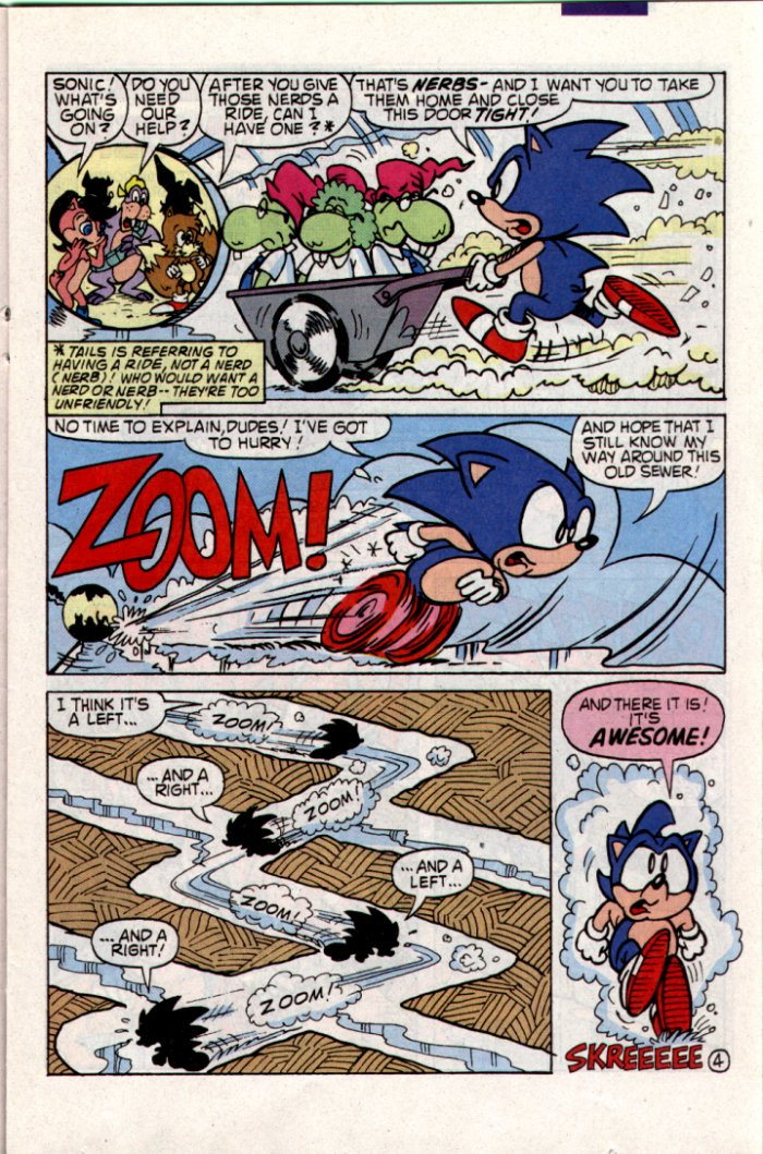 Sonic - Archie Adventure Series May 1994 Page 10