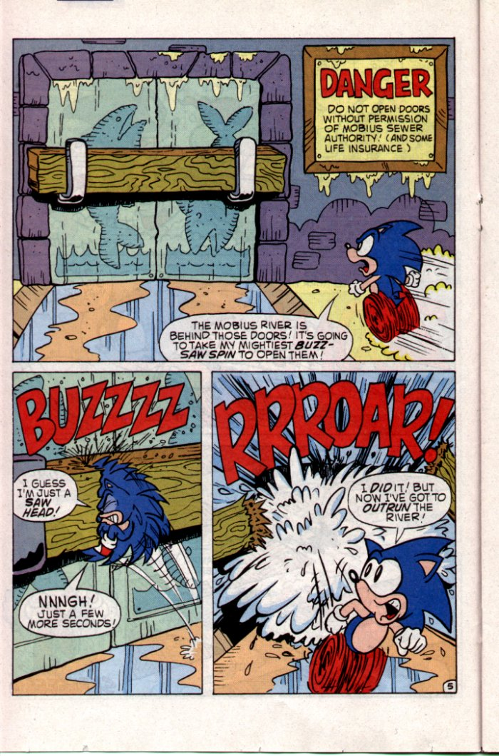 Sonic - Archie Adventure Series May 1994 Page 11