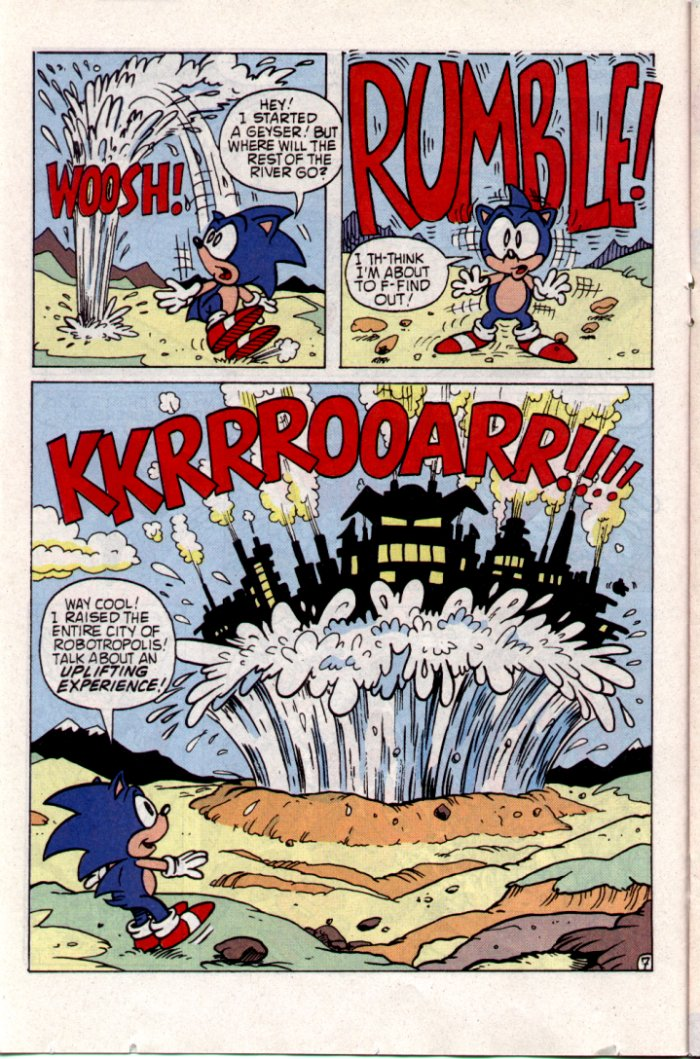 Sonic - Archie Adventure Series May 1994 Page 13