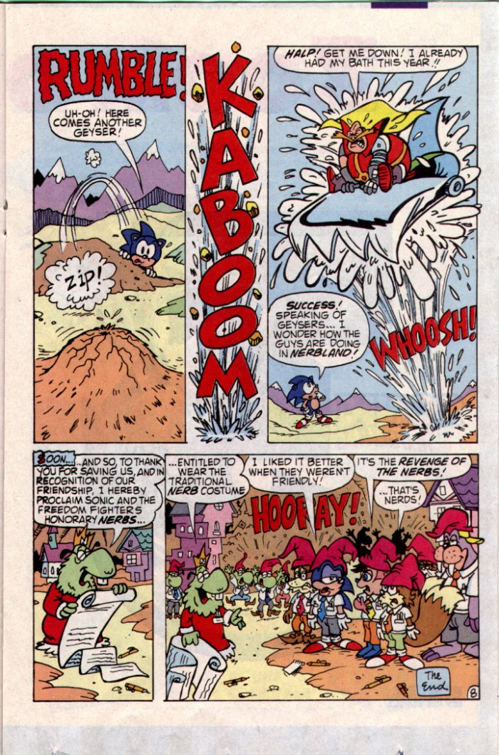 Sonic - Archie Adventure Series May 1994 Page 14